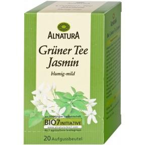 Alnatura Bio grüner Tee Jasmin 20x 1,5 g
