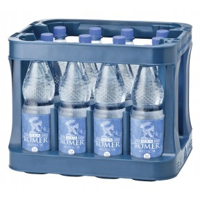 Aqua Römer Mineralwasser Medium PET 12x 1 ltr