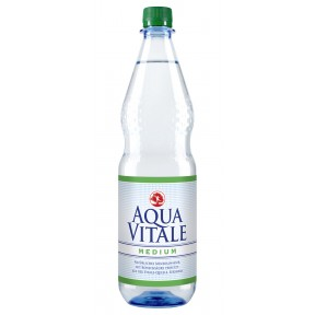 Aqua Vitale Mineralwasser Medium 1 ltr
