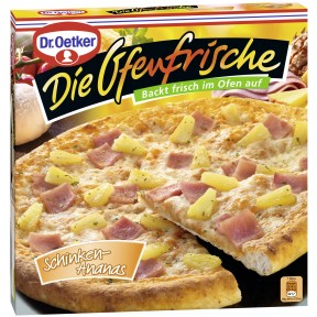 Dr.Oetker Die Ofenfrische Pizza Schinken-Ananas