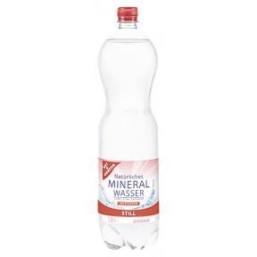 Gut & Günstig Mineralwasser Still 1,5 ltr