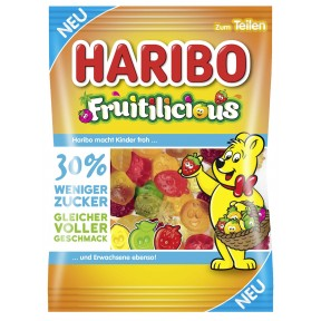 Haribo Fruitilicious 160 g