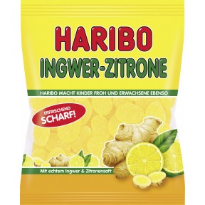 Haribo Ingwer + Zitrone