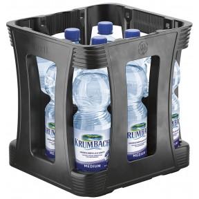 Krumbacher Mineralwasser Medium PET 9x 1 ltr