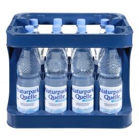 Naturpark Quelle Mineralwasser spritzig PET 12x 1 ltr