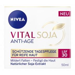 Nivea Vital Soja Anti-Age Schützende Tagespflege für reife Haut LSF 30