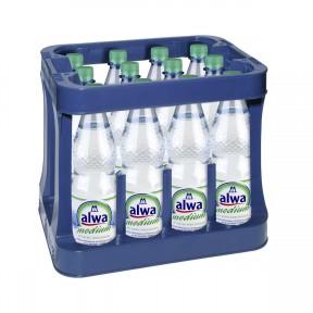Alwa Mineralwasser Medium 12 x 1 ltr