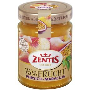 Zentis 75% Frucht Pfirsich-Maracuja Fruchtaufstrich