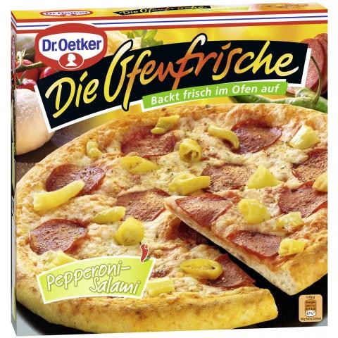 Dr.Oetker Die Ofenfrische Pizza Pepperoni-Salami