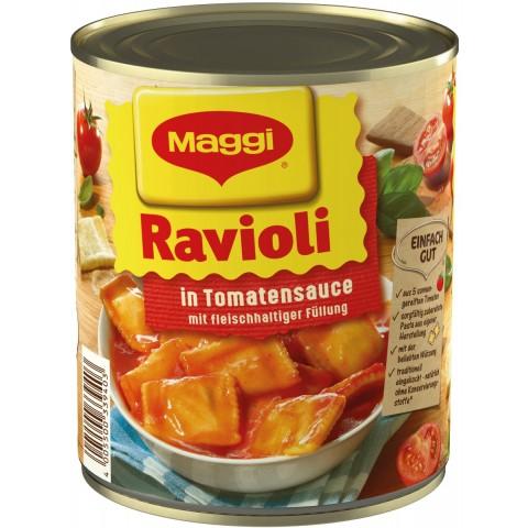 Maggi Ravioli in Tomatensauce